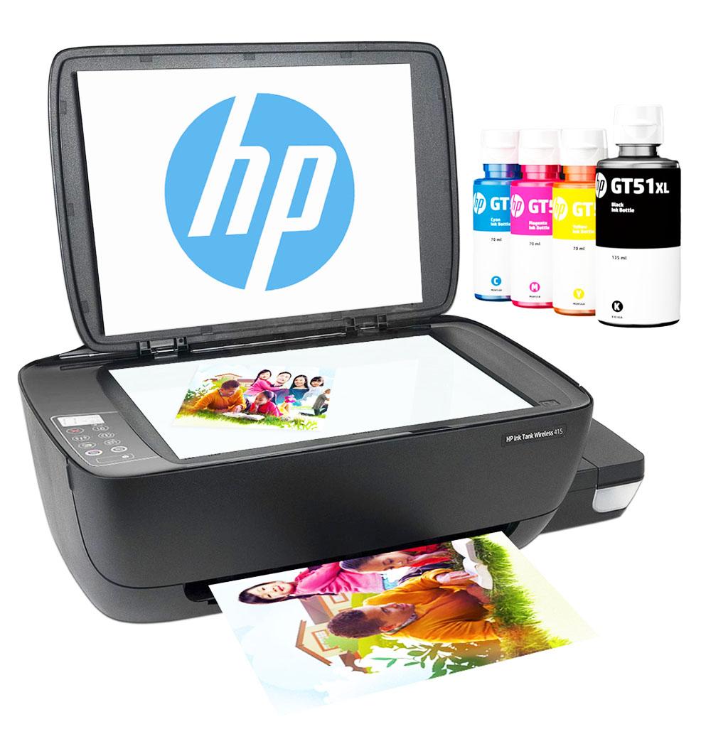 Multifuncional de tinta HP Ink Tank Wireless 415, Imprime/Escáner/Copia,  Wireless